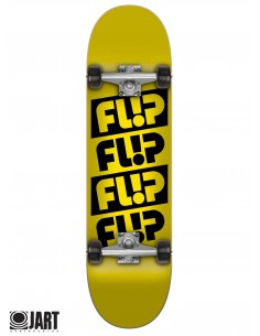 Complete Flip Skateboards Odyssey Yellow 7.88