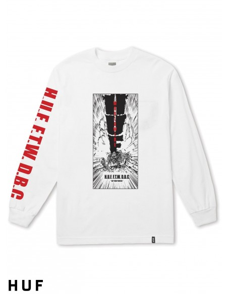 HUF Kaboom Pocket White