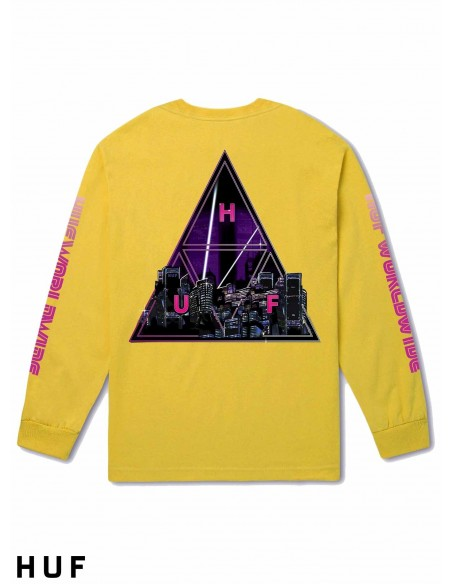 HUF Neo triple Triangle Amarillo