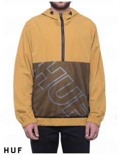 HUF Wire Frame Anorak Moutarde