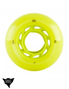 Orbs Wheels Lime 55mm