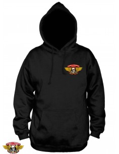 the best attitude b3217 0630c Powell Peralta Winged Ripper Hoody Nero ...
