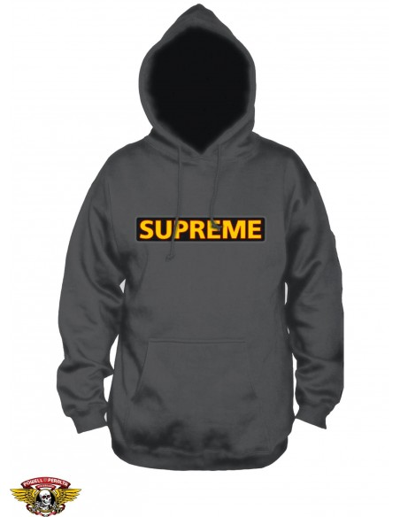Powell Peralta X Supreme Hoody Charcoal
