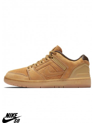 quite nice latest info for Nike SB Air Force II Low Premium Bronze Skate Shoes