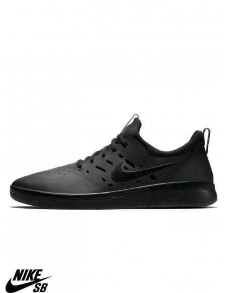 Nike SB Nyjah Free Skateboarding Nero