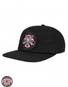 Independent x Thrasher Pentagram Cross C Noir