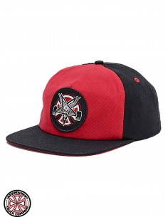 Independent x Thrasher Pentagram Cross C Rosso