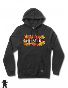 Grizzly Griptape Seasonal Stamp Hoodie Black