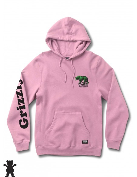 Grizzly Griptape Fontaine Hoody Rosa