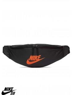 Nike Sportswear Heritage Noir Orange