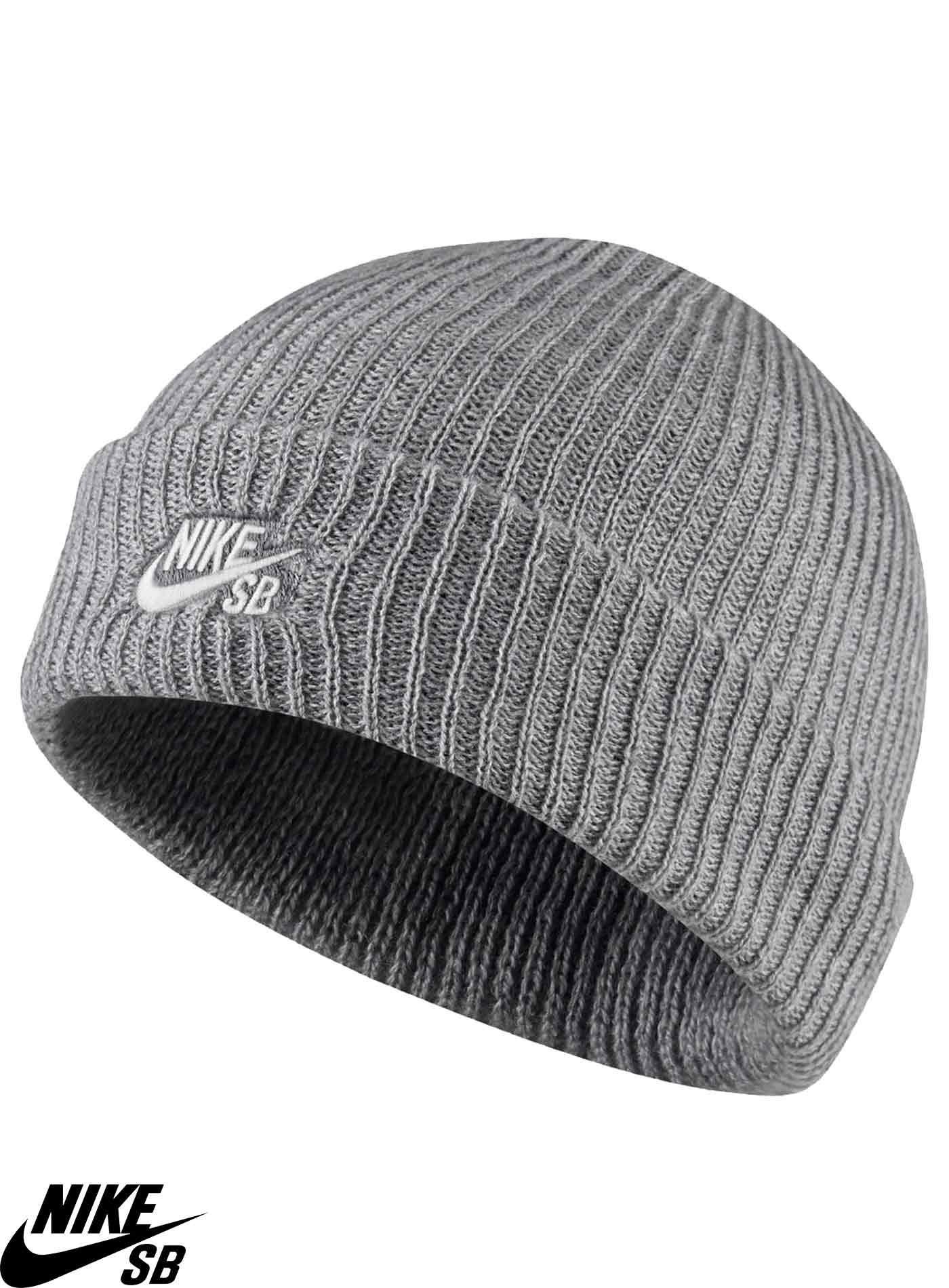 13d62282938e7 Bonnet Nike SB Fisherman Gris