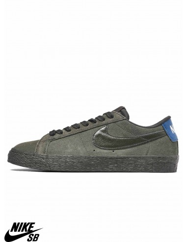 low priced 95cde e273c Nike SB Blazer Low Sequoia Skate Shoes