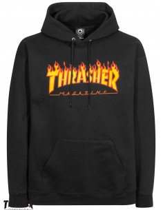 Thrasher Flame Logo Nero