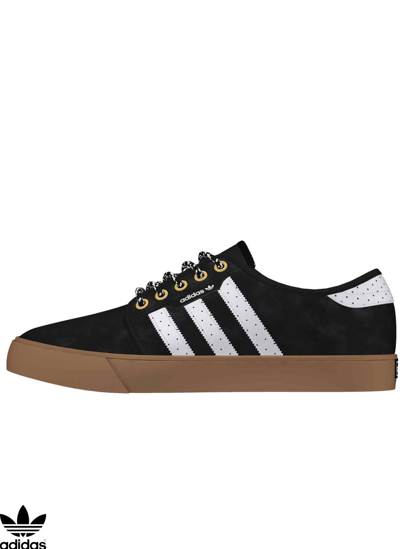 Adidas Skateboarding Seeley Core Black Skate Schuhe