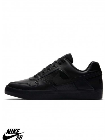 beb41b7381fe2 Nike SB Delta Force Vulc Black Skate Shoes