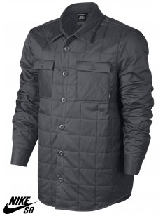 Nike SB Holgate Winterized Shirt Dark Grey