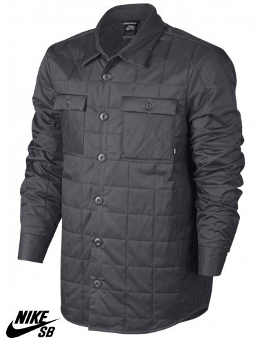 Nike Veste Holgate Winterized Shirt Grey Sb Dark LARcq5j43