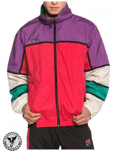 Grimey Brick Top Track Jacket Porpora