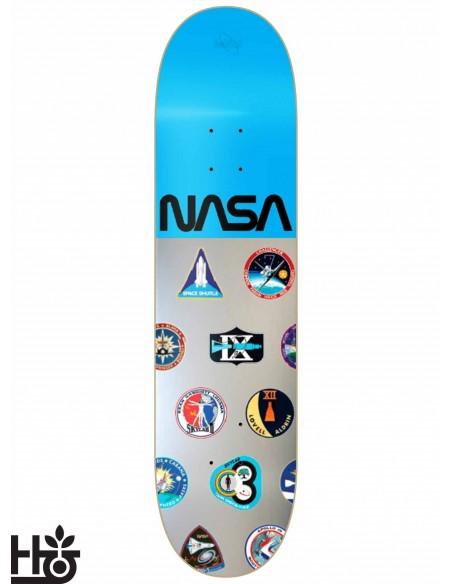 Habitat Skateboards NASA Silver Blue 8.25