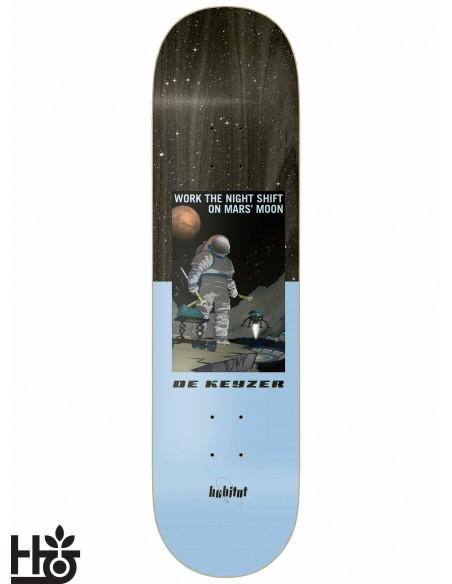 Habitat Skateboards NASA De Keyzer 8.25