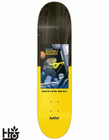Habitat Skateboards NASA Baxter Neal 8.25