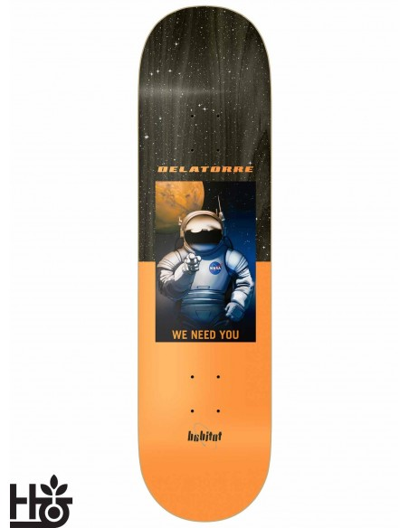 Habitat Skateboards NASA Delatorre 8.375