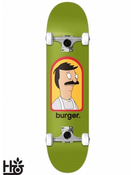 Habitat Skateboards Bob´s Burguers Burguer Large 7.87 Complete