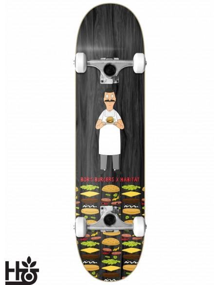 Habitat Skateboards Bob´s Burguers Bob On Wood 8.0 Complete