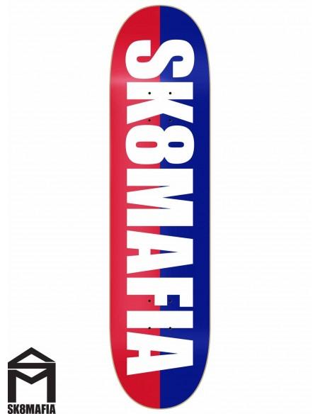 SK8MAFIA Og Logo Split White 8.1