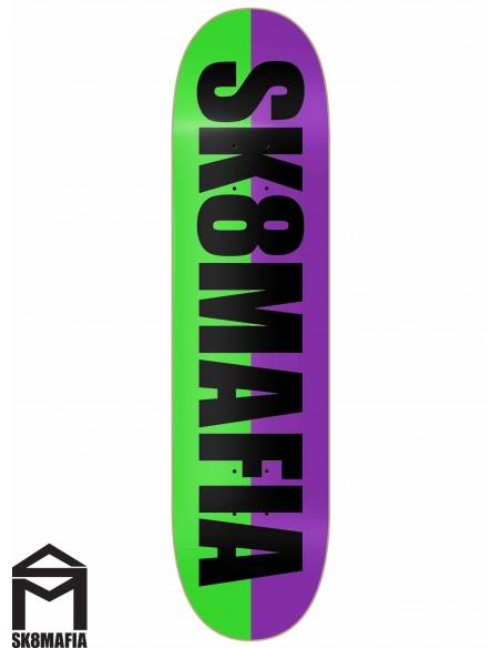 SK8MAFIA Og Logo Split Black 8.25
