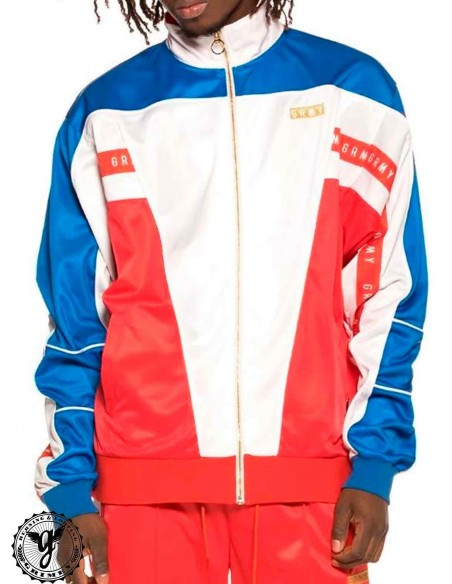 Grimey F.A.L.A. Poly Track Jacket Red