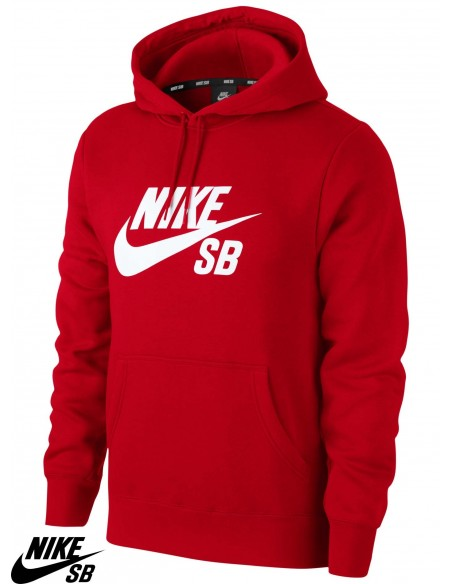 Nike SB Icon Hoodie University Red
