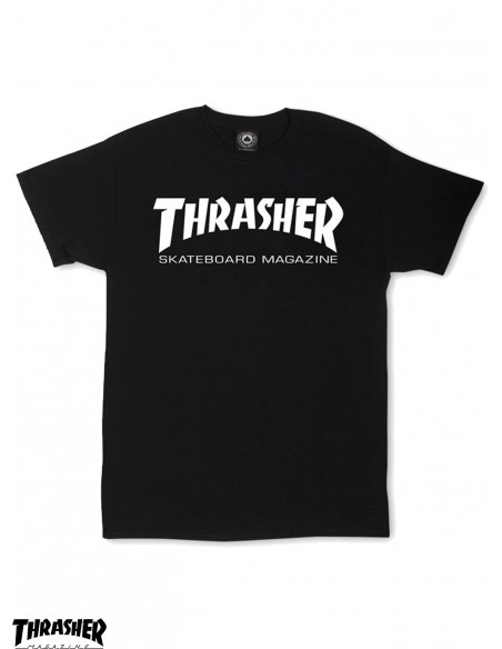 Thrasher Mag Black