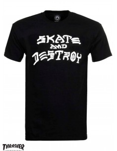 Thrasher Skate And Destroy Black