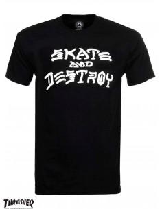 Thrasher Skate And Destroy Nero