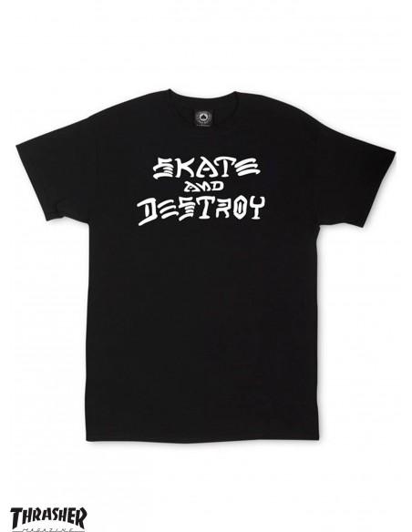 Thrasher Skate And Destroy Negra