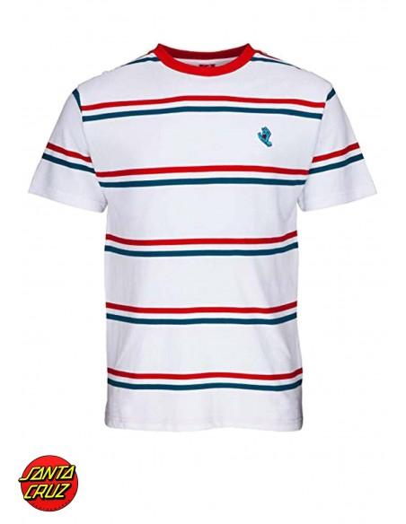 Santa Cruz Screaming Mini Hand striped T-Shirt