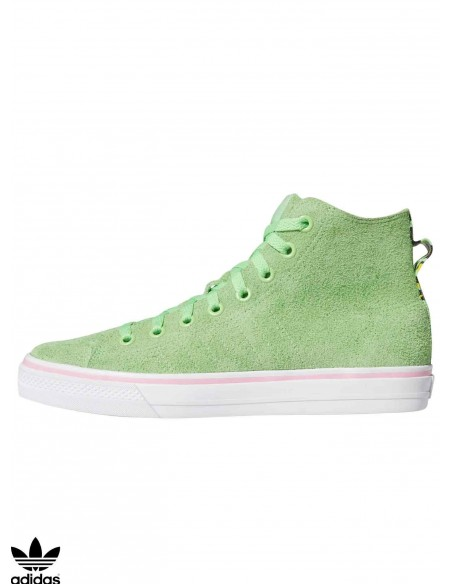 Adidas Nizza High RFS Green