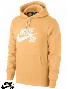 Nike SB Icon Hoodie Celestial Gold