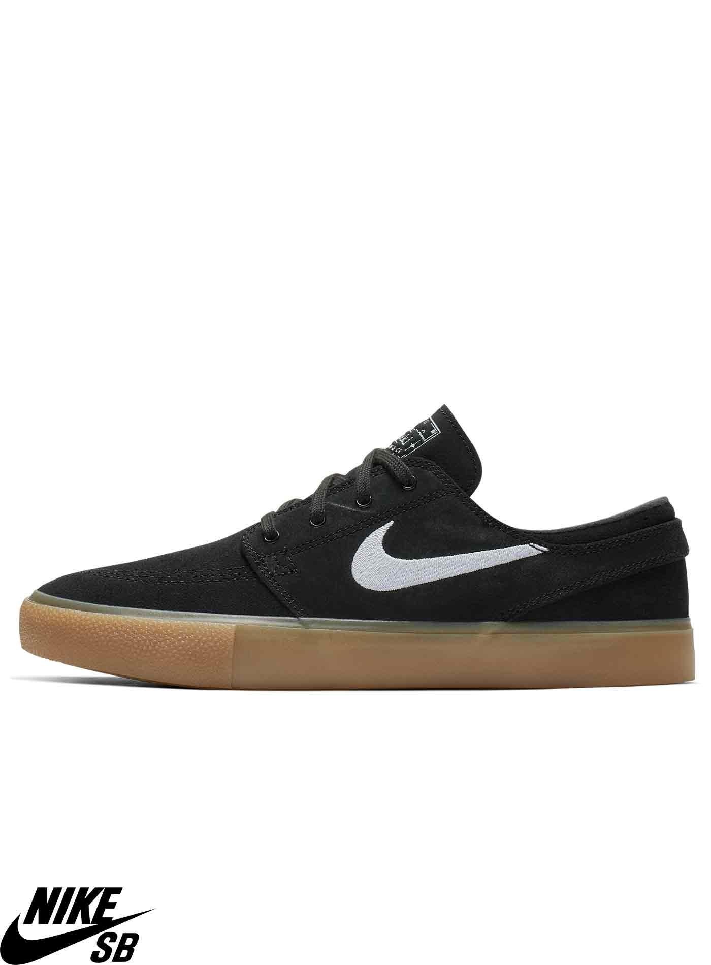 Zapatilla Skate Nike SB Zoom Stefan Janoski RM Black Gum