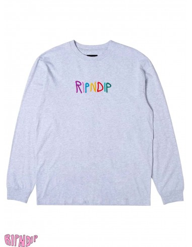 Ripndip EMB Logo Grey