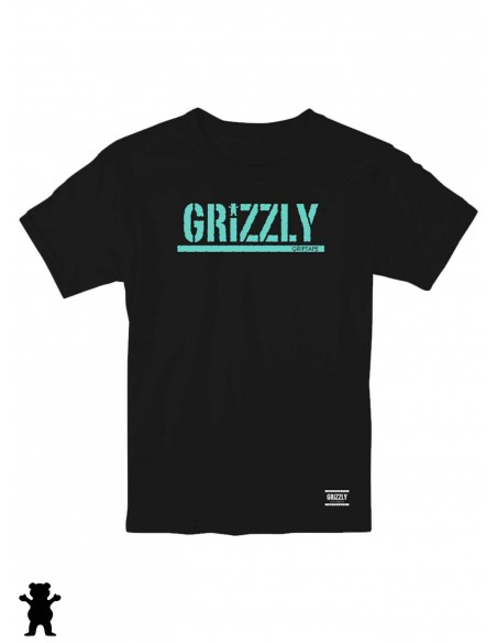 Grizzly Stamp Black