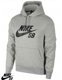 Nike SB Icon Hoodie Grey