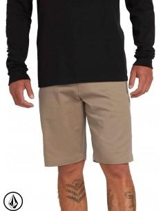Pantalon Corto Volcom Frickin Modern Stretch Khaki