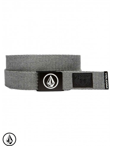 Volcom Circle Web Charcoal Heather Belt