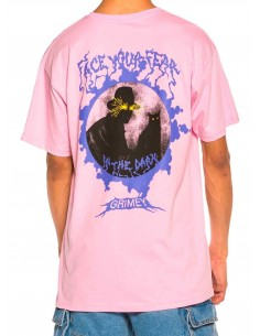 Grimey Face Your Fear Pink T-Shirt