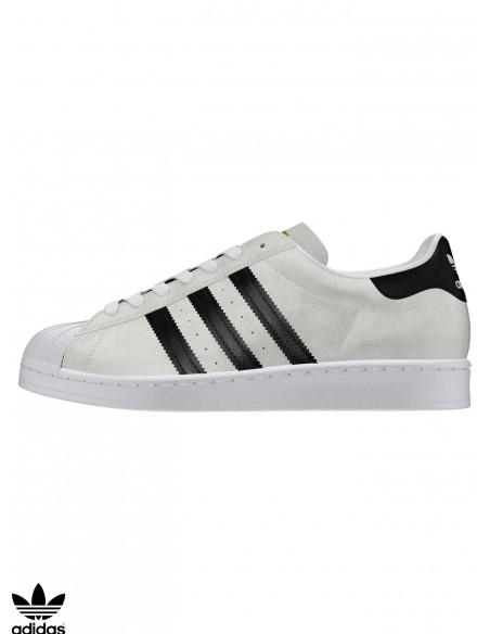 Chaussures Skate Adidas Skateboarding Superstar ADV White