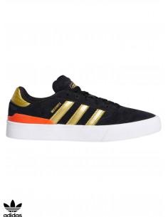 Adidas Skateboarding Busenitz Vulc II Black Skate Shoe