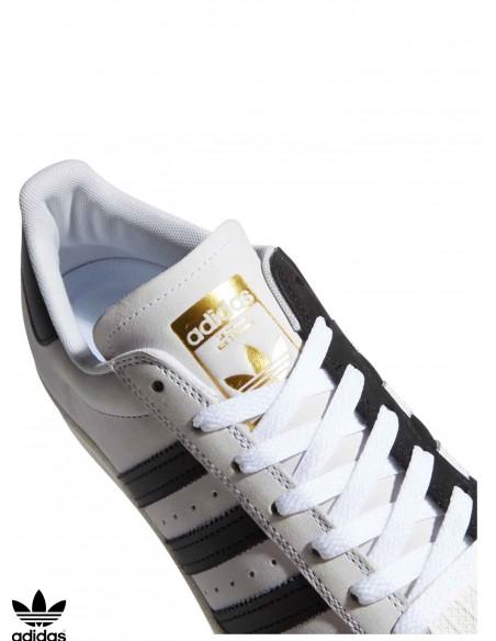 Scarpe da Skate Adidas Skateboarding Superstar ADV White