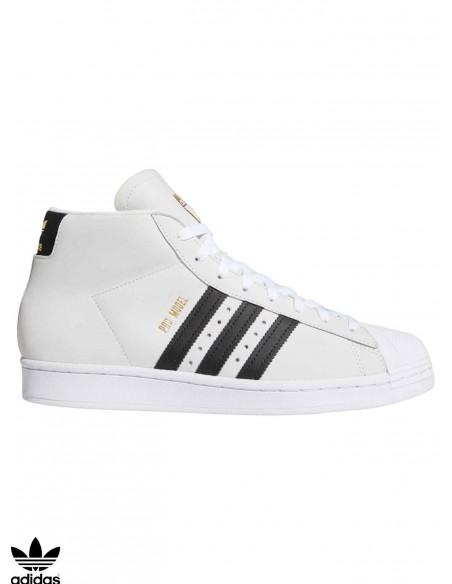 Chaussures Skate Adidas Skateboarding Pro Model White